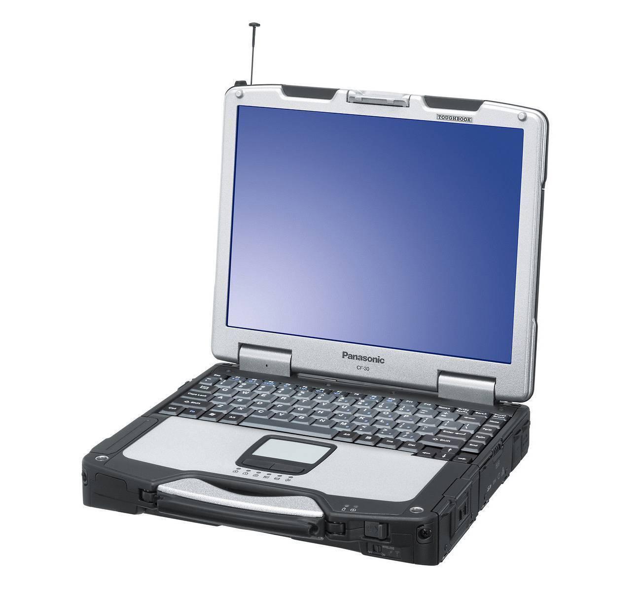 Panasonic Toughbook CF-30 Laptop  -1.6Ghz CPU , 2GB RAM -- NO HDD, BATTERY & AC