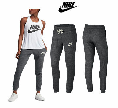 Womens NIKE SPORTSWEAR FIT Vintage Tapered Sweat Pant Running Joggers Gym Pants