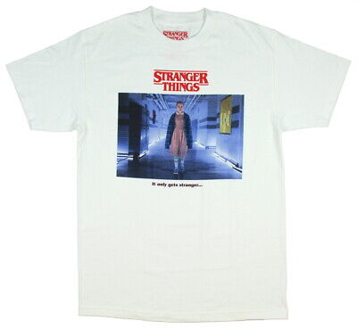 Stranger Things Men's Eleven It Only Gets Stranger T-Shirt