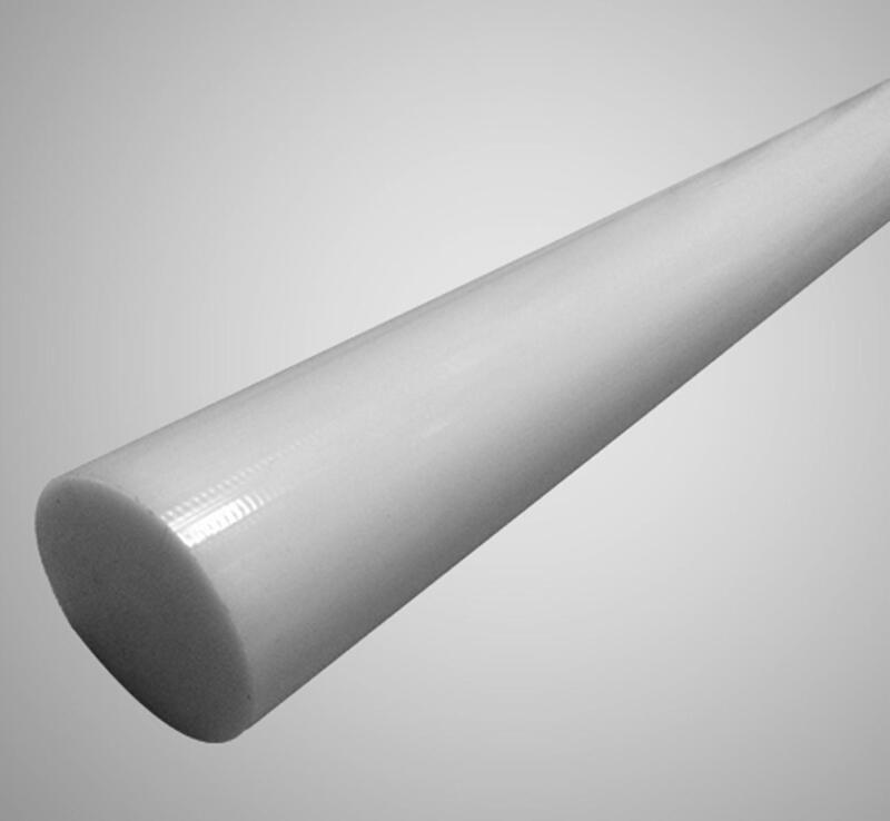 "US Stock 3pcs 25mm Dia. 13"" Natural White Polyoxymethylene Acetal Delrin Rod"
