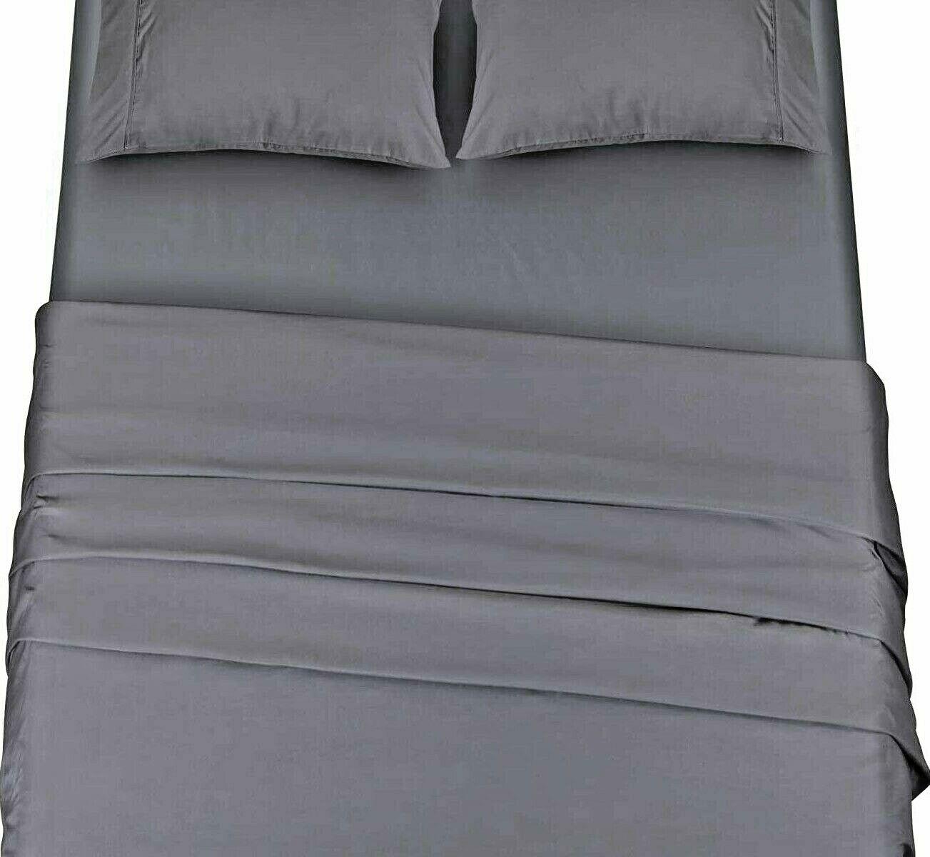 Utopia Bedding Bed Sheet Set - Soft Brushed Microfiber Wrink