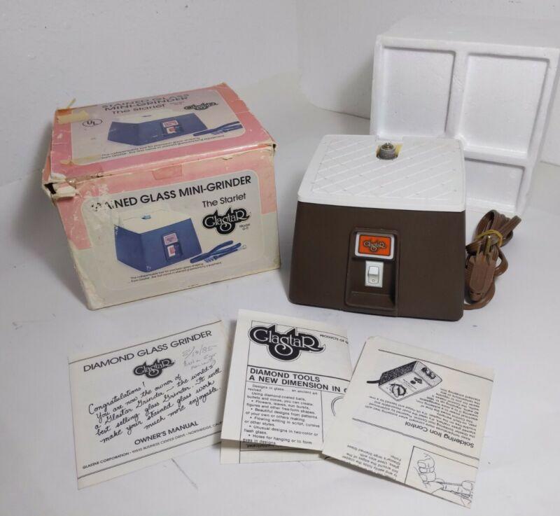 Vintage Open Box: Glastar Stained Glass Mini-Grinder Model G-5 The Starlet