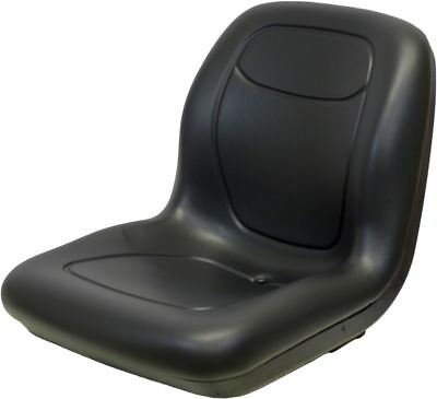 Kubota B2320-b7800 Bx And M5640-m7040 Series Black Vinyl Bucket Seat