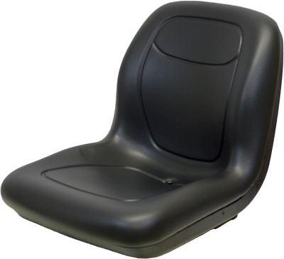 Kubota B1700-b2400 And L2500-l4200 Series Black Vinyl Bucket Seat