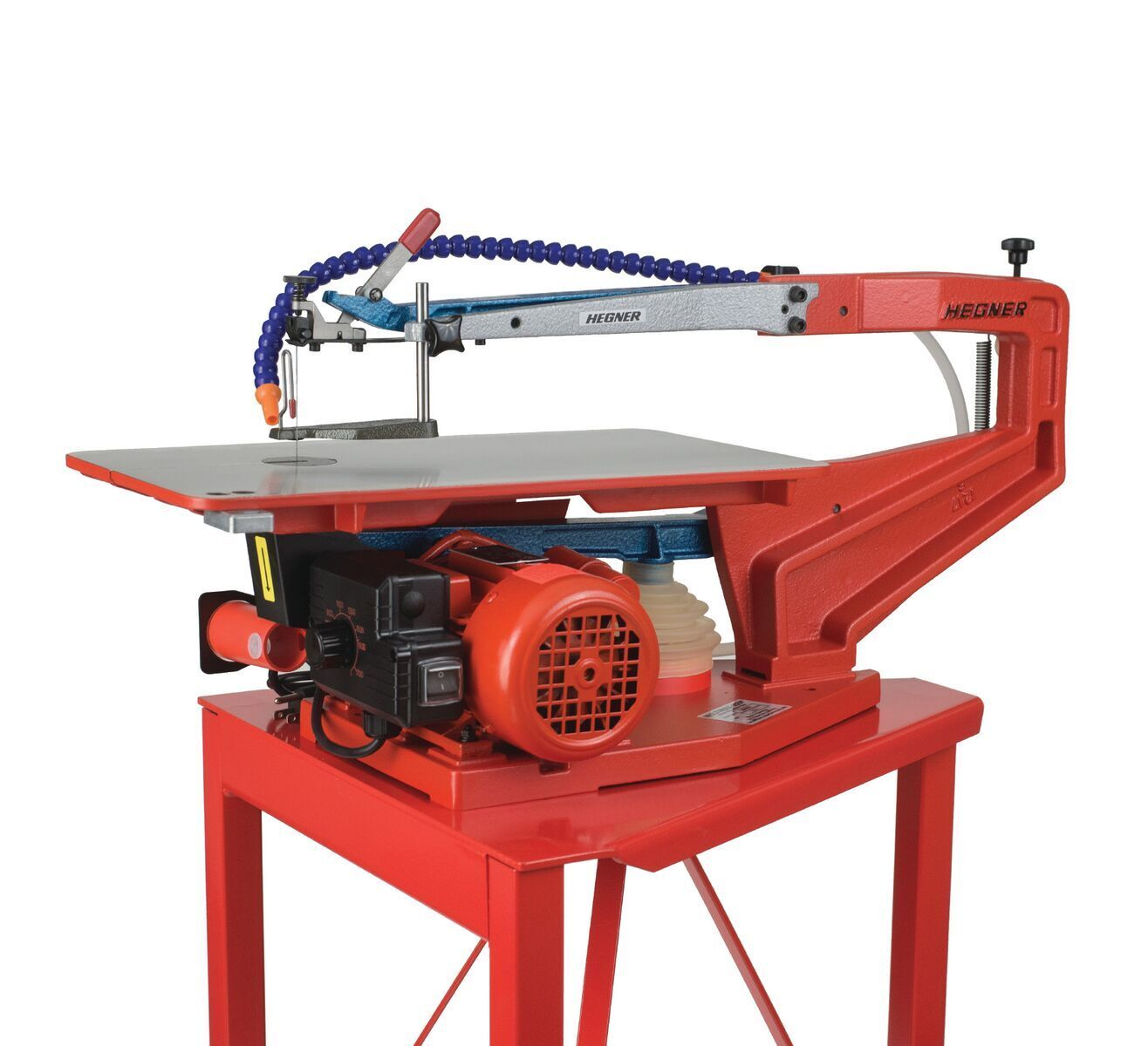 """HEGNER 22"""" Variable Speed Scroll Saw & Stand -Brand New"""