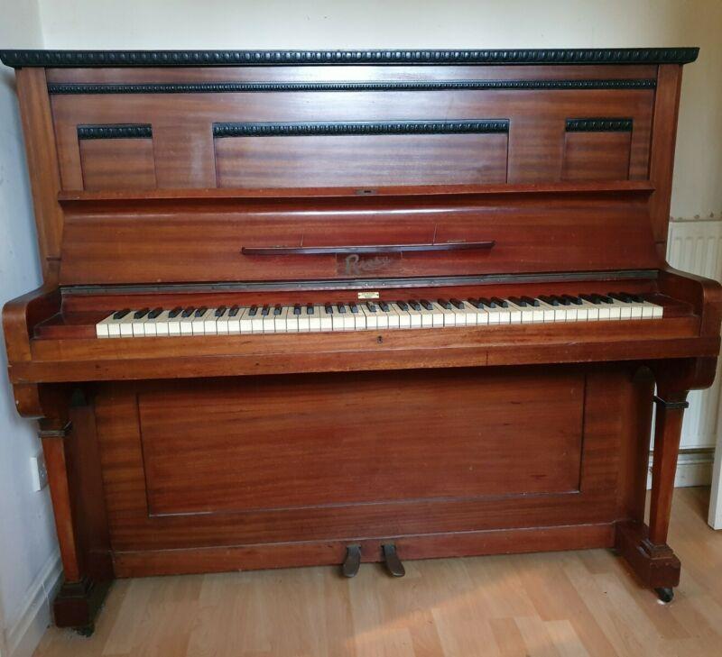 Upright Piano Vintage Antique