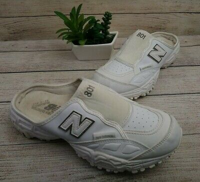 New Balance 801 Slip On Sneakers Running Shoes White Size US 7