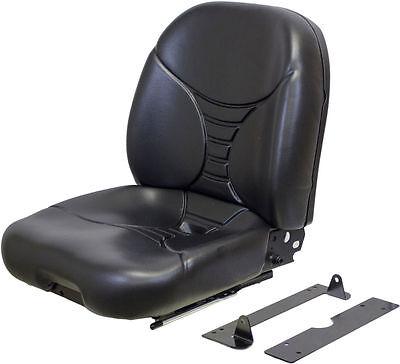 Kubota L Series Black Vinyl Seat Fits L3130dt L3940dt L4330hstc L4740gst Etc