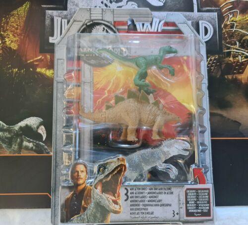 Jurassic World 3 Mini Figur Mattel Indominus Rex Exklusiv