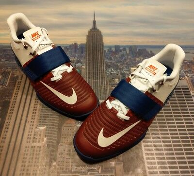 Nike Romaleos 3 Americana Team Red/white-gym Blue Mens Aq0627 614 Clothing, Shoes & Accessories Athletic Shoes Size 7.5