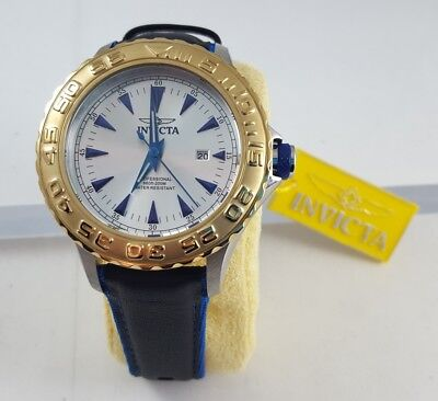 NEW Authentic Invicta Pro Diver Mens Watch Model 12615 MSRP 795.00 value gold
