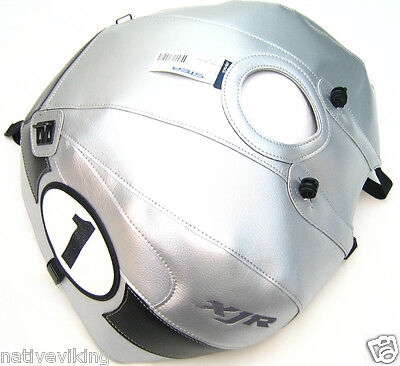 BAGSTER TANK PROTECTOR COVER YAMAHA XJR 1300 2013 XJR1300 2002>14 Silver 1447Q for sale  Shipping to Ireland