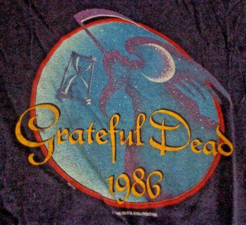 Rare Authentic Vintage Grateful Dead 1985-1986 New Years Eve Oakland Coliseum L