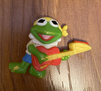 VINTAGE MUPPETS BABY PIN KERMIT THE FROG BABY 1988 AVON
