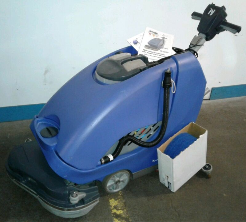 NUMATIC TTB-6652/200T. Commercial Battery Operated Walk Behind Floor Scrubber
