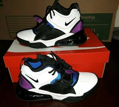 Nike Air Force 270 GS Youth Size 5Y Shoes White/Black/Blue/Berry AJ8208-102