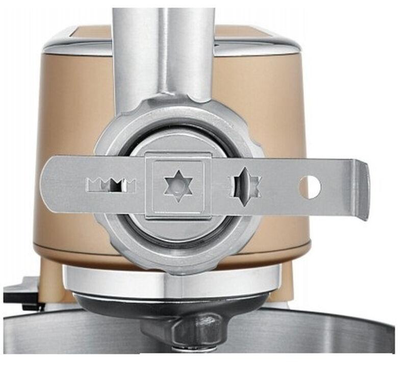 WMF 0416940011 Spritzgebäckaufsatz (Silber, Für WMF PROFI PLUS Fleischwolf)