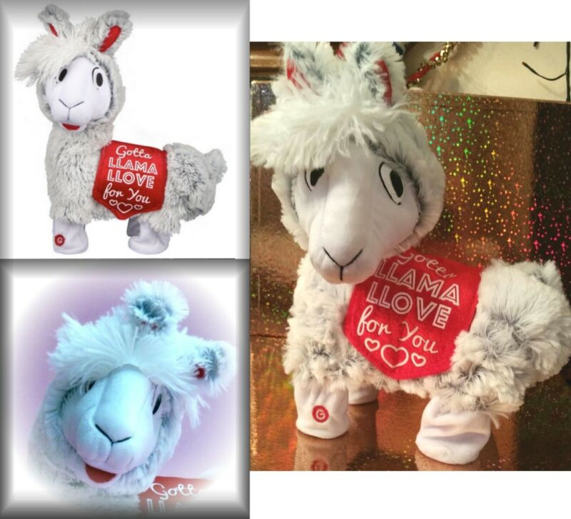 Twerking Llama Plush Sings Britney Baby One More Time-Valentines Love for You