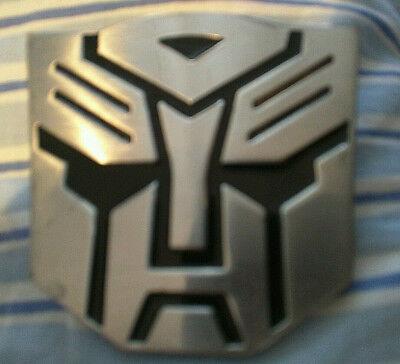 Transformers Autobot Optimus Prime Face Metal Belt Buckle, Used