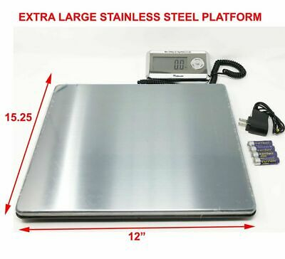 Details About Large Heavy Duty Digital Shipping Postal Parcel Scale 440 Lbs