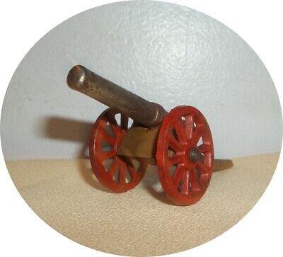 CAST IRON CANNON ~ SPOKE WHEELS ~ BARCLAY / GREY IRON Gray Iron Wheel