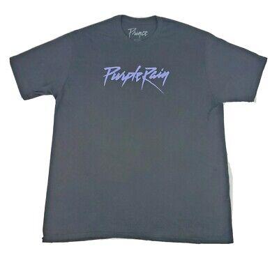 Unisex PRINCE Brand Black PURPLE RAIN T Shirt Size 2XL