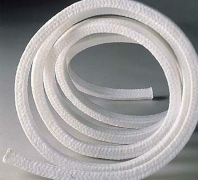 US Stock 10 x 10 x 1000mm Teflon PTFE Square Braided Rope Gasket Gland Packing