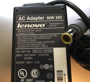 Genuine Lenovo 90W 20V AC Adapter