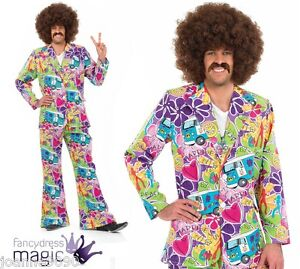MENS-ADULT-60s-70s-HIPPIE-HIPPY-PSYCHEDELIC-SUIT-FANCY-DRESS-COSTUME-WITH-FLARES