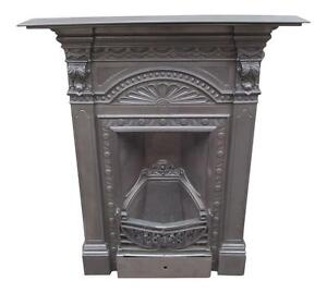 cast iron fireplaces ebay rh ebay co uk