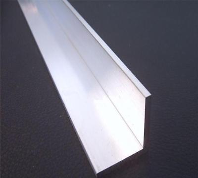 Us Stock 4pcs 10mm X 30mm X 250mm9.84 Long 2mm Thick 6063 T5 Aluminum Angle