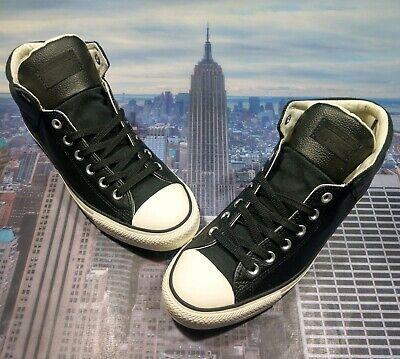 Converse Chuck Taylor All Star High Street High Top Black/Egret Size 9...