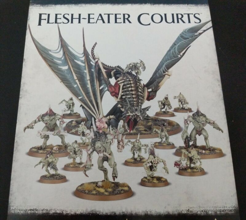 Flesh-Eater Courts Crypt Ghouls/Horrors/Flayers/Terrorgheist Warhammer AoS NEW