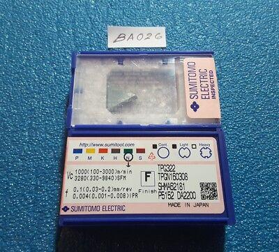 Sumitomo Tpg322 Da2200 Tpgn160308 Carbide Insert 1 Pc