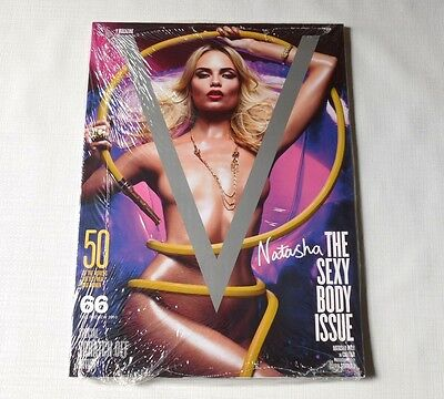 Natasha Poly V Magazine #66 Special Scratch Off Edition 2010 Sealed