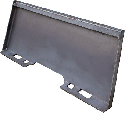516 Heavy Duty Universal Skid Loader Quick Attach Skid Steer Solid Plate