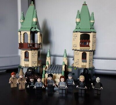 LEGO Harry Potter 4867 Minifigures LOT of 11 Hogwarts Castle Incomplete *Read*