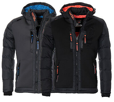 Geographical Norway warme Herren Winter jacke Steppjacke Parka SKI Outdoor NEU ()