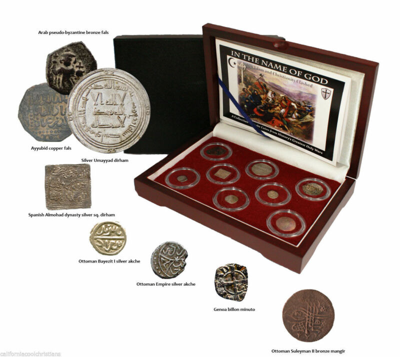 In the Name of God - When Islam & Christianity Clashed 8 Coins from Holy Wars