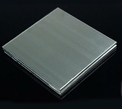 Us Stock 1.5mm X 5 X 5 304 Stainless Steel Fine Polished Plate Sheet