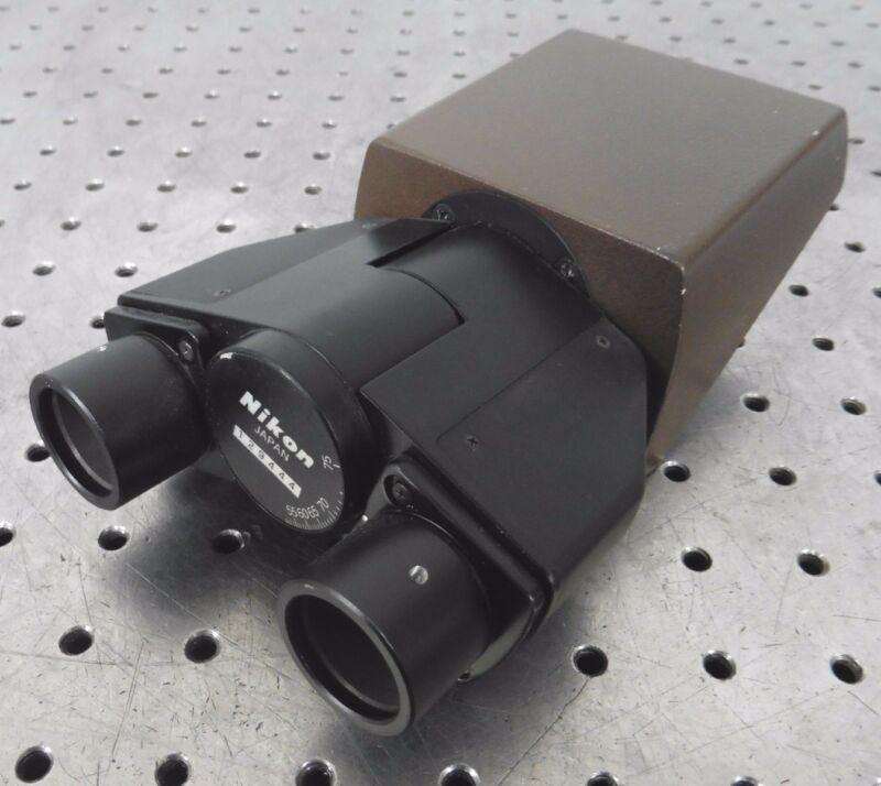 C132971 Nikon Binocular Microscope Head (48.7mm Dovetail)