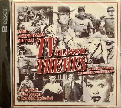 TV CLASSIC THEMES - 25TH ANNIVERSARY EDITION - 2CD Set