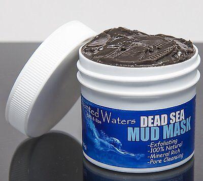 Dead Sea Mud Mask 100  Pure  Facial  Anti Aging  Acne  Oily Skin  Pore Minimizer