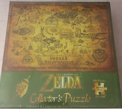 The Legend of Zelda Collector's Puzzle - New/Sealed - 550 pieces