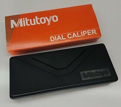 Mitutoyo 505-675 53 Dial Caliper 0-6 Green Face .001 Case Inspectioncertificate