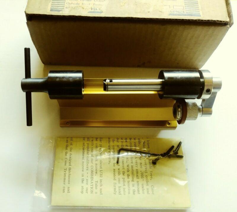 Forster Appelt-cartridge Case Trimmer NIB .
