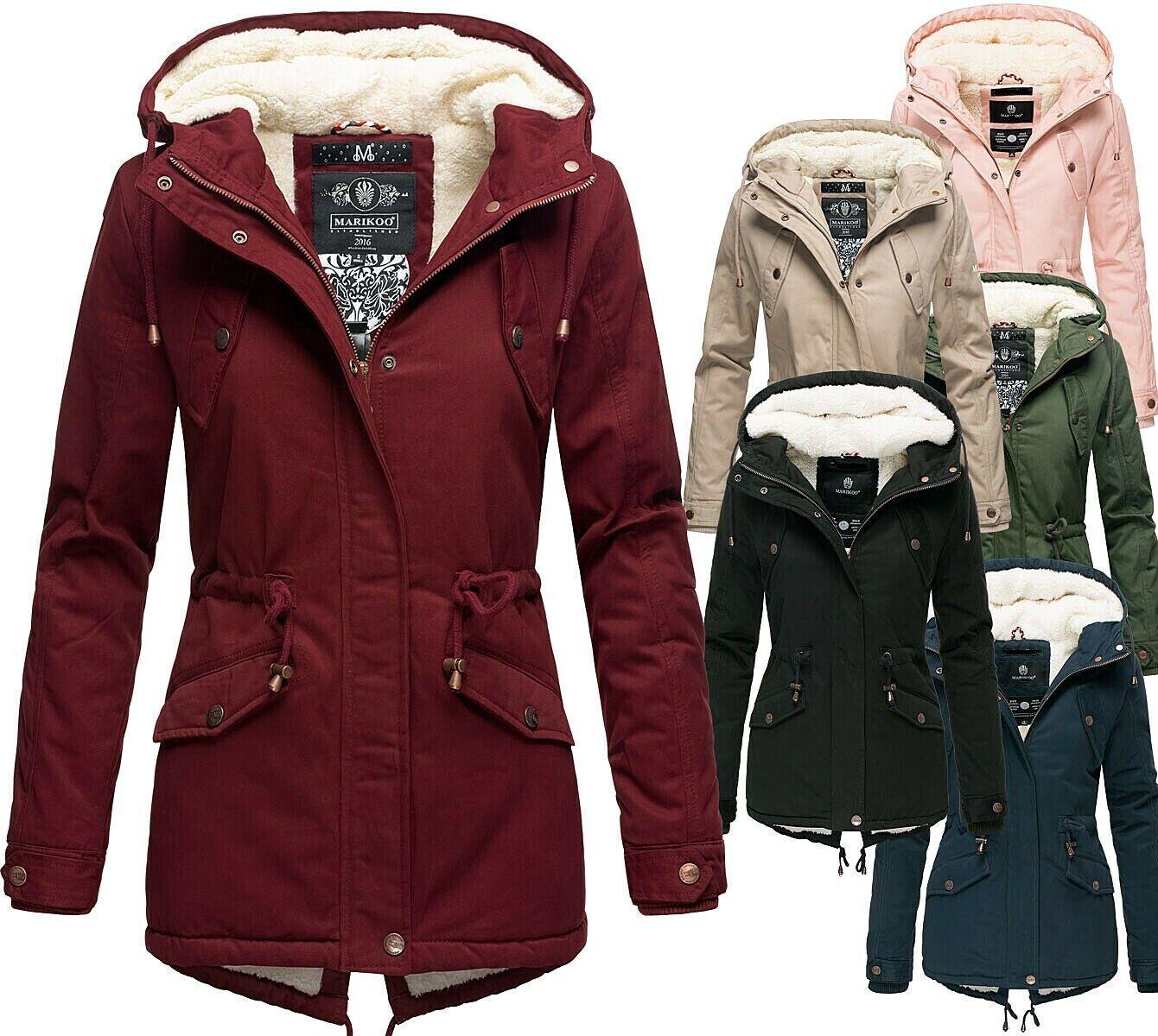 Marikoo Damen Jacke Vergleich Test +++ Marikoo Damen Jacke