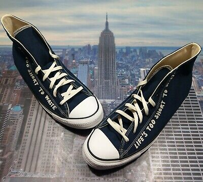 Converse Chuck Taylor All Star High Top Renew Obsidian Mens Size 13...