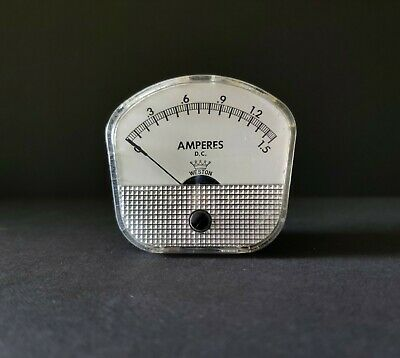 Vintage Weston Crown Series Meter D.c. 2.5 Model 1721 Amm Usa 1.5 Amps
