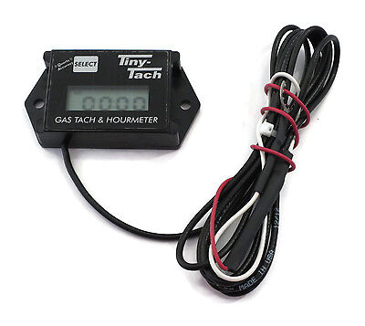 Commercial TINY TACH Hour Meter / Tachometer for RC Boats, Cars & Air Planes